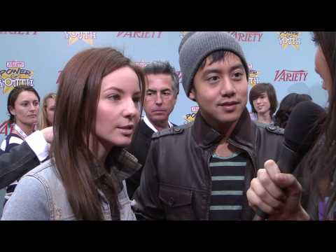 Samantha Droke and Allen Evangelista : Variety's Power of Youth 2009