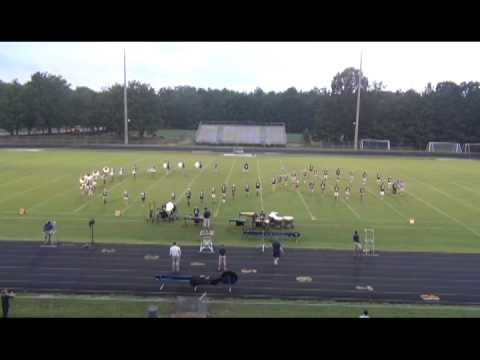 Midlothian High School Marching Trojans Preview Night 2013