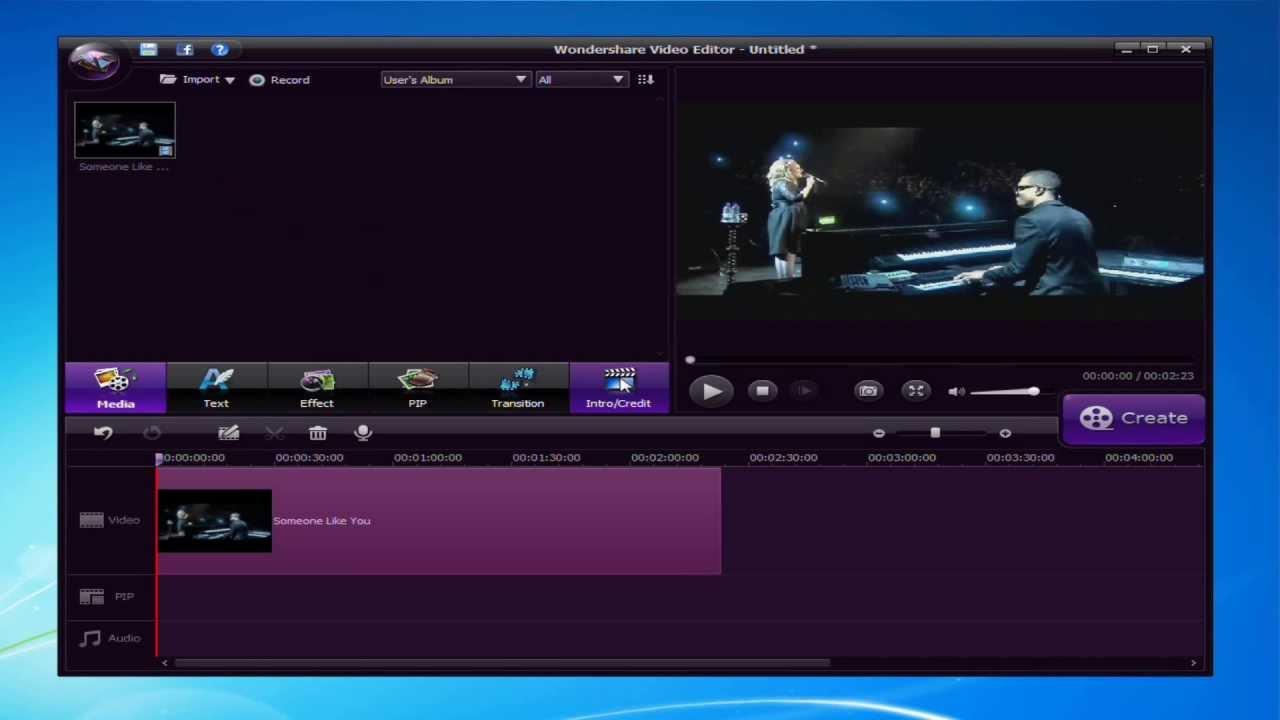 edit video windows 8