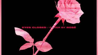 Rosé 'eyes closed' cover 1Hour
