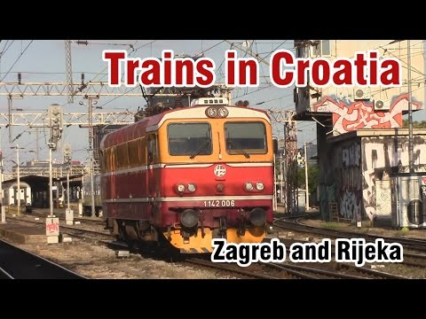 Trains in Croatia 2016