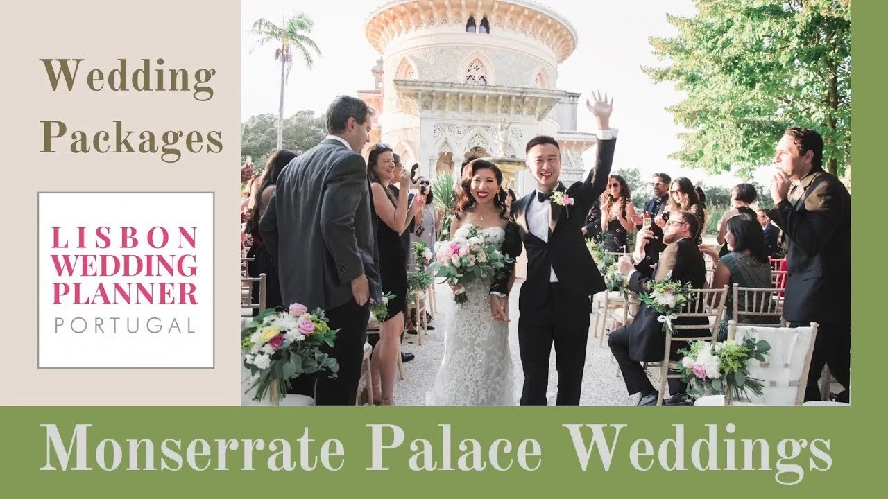 Portugal Wedding Venue  - Monserrate Palace Wedding Packages ~ by Lisbon Wedding Planner