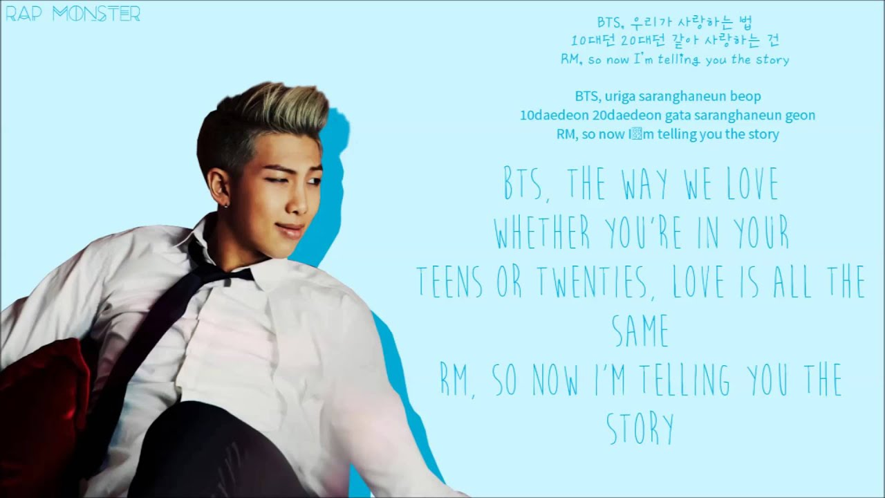 Hangul Quotes Wallpaper Bangtan Boys Intro Skool Luv Affair Color Coded