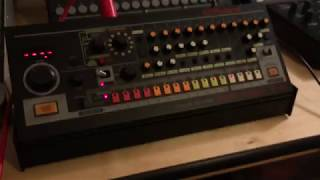 E-RM Multiclock syncs TR-08 (USB audio) to DAW