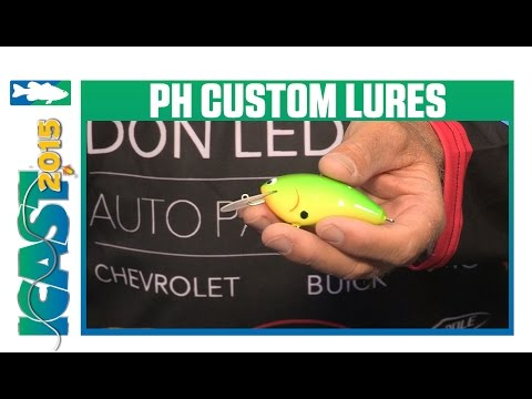 PH Custom Lures Balsa Flat Crankbait with Wesley Strader