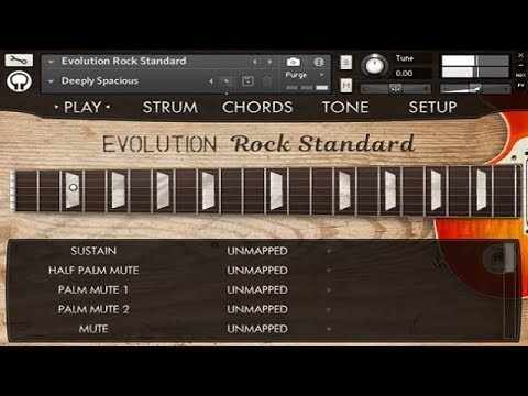 Evolution Rock Standard - Demo