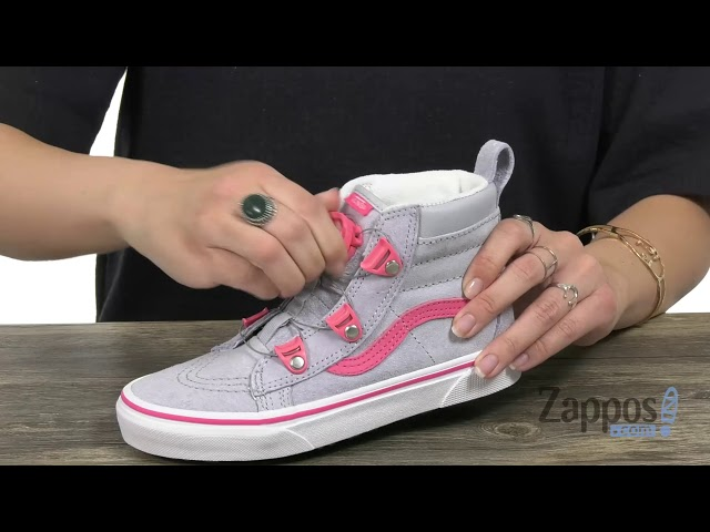 ae836b65b3a Vans Kids SK8-Hi MTE Boa (Little Kid Big Kid) SKU  9123835 - YouTube