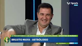 El Brujito Maya predijo el resultado de Brasil-Argentina y qué pasará con Benedetto