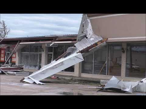 8/27/2020 Lake Charles, LA-Hurricane Laura Catastrophic Damage To Buildings