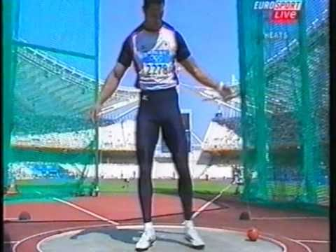 Hammer Throw Mens Athens Olympics 2004