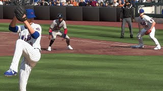 MLB Today 7/24 - New York Mets vs Atlanta Braves Opening Day Full Game Highlights (MLB The Show 20)