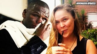 Ronda Rousey BURNS Floyd Mayweather: I MAKE MORE MONEY PER SECOND! You Cannot READ/WRITE