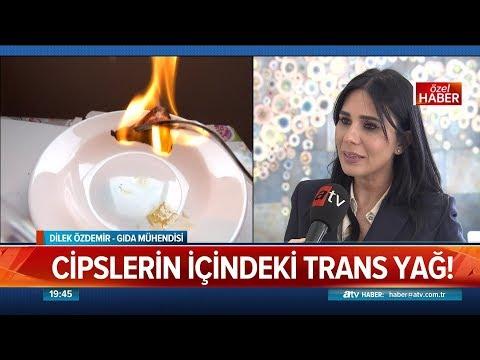 Cipslerin içindeki trans yağ!  - Atv Haber 23 Mart 2019