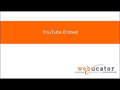 YouTube Embed – WordPress plugin | WordPress org