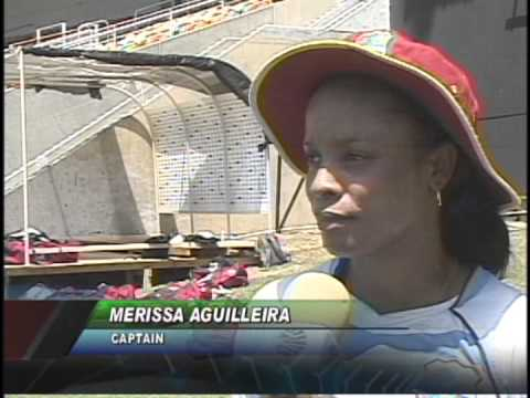 West Indies Women's Cricketers in Jamaica
