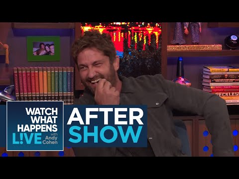 After : Gerard Butler On Dating Brandi Glanville  RHOBH  WWHL