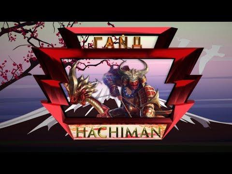 видео: Гайд на бога Хачиман, smite
