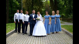 Свадьба Андрея и Любы Бараболиных. 20 июня 2019 года