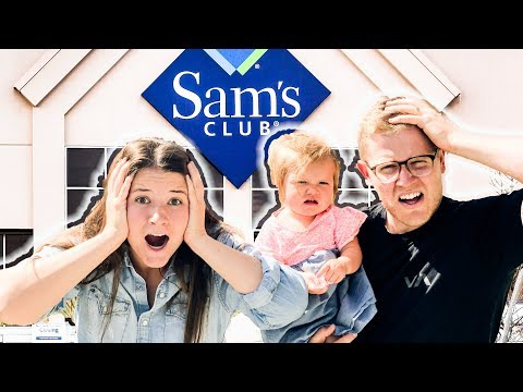 Costco SUPERFANS Shop At SAMS CLUB For The FIRST TIME ***BLOWN AWAY***