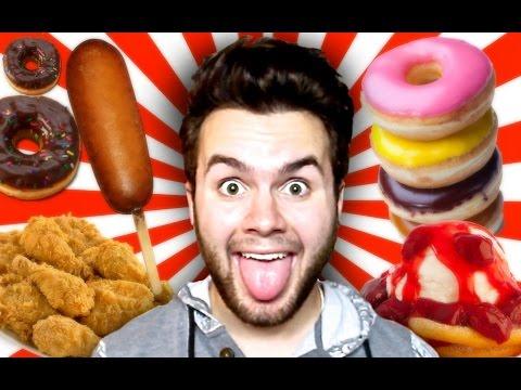 10 WEIRDEST Deep Fried Fair Foods!