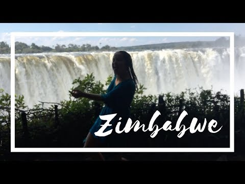 Camping in a village in Zimbabwe!  Travelling Africa Vlog