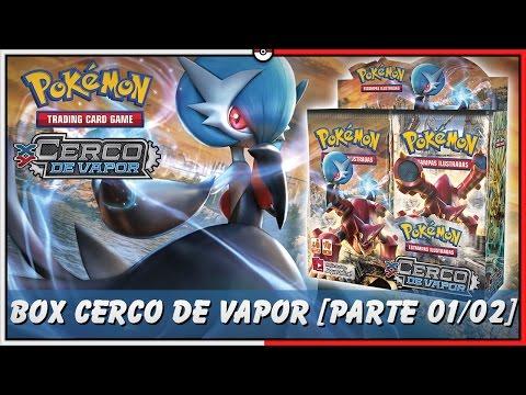 Pokémon TCG: UNBOX BOOSTER BOX CERCO DE VAPOR XY11 [PARTE 01/02]