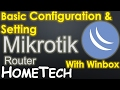 MikroTik Basic Configuration as Internet Sharing NAT Router for beginner #1