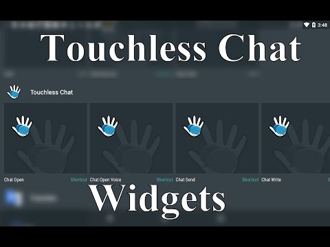 Touchless Chat Widgets