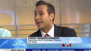 La Entrevista El Noticiero Televen - Mardolei Prin - Harley Monseguilemman - Jueves 25-05-2017