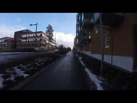 Biking in Helsinki-Espoo-Vantaa region