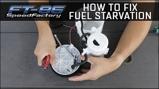 How to fix Fuel Starvation and Upgrade Fuel Pump