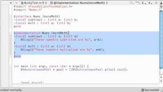 Objective C Programming Tutorial - 48 - Categories thumbnail