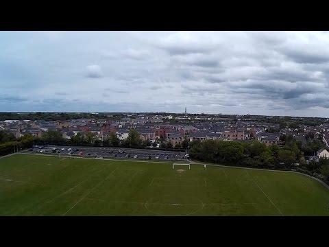 Scout X4 Flight In Heavy Wind over Dublin