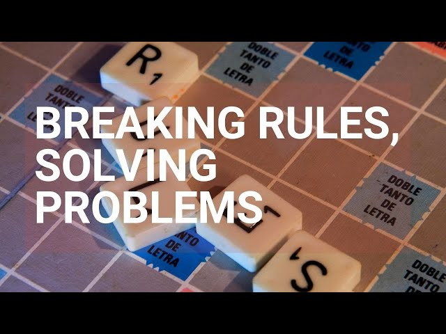 Solving Problems by Relaxing Boundaries - Rough Cut Creativity