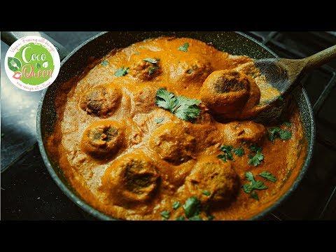 Vegan Meatball & Indian Curry Sauce Recipe Vegan Indian Cuisine Recipe