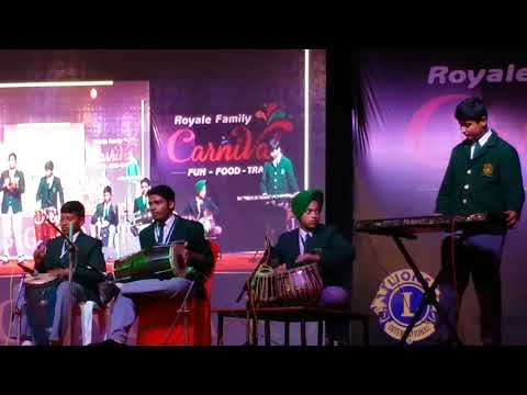 DPS gondia performed orchestra on lion club gondia royale carnival 2017
