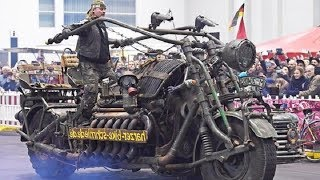 德國老頑童,造世界最大摩托車,裝蘇聯坦克引擎,壹般人駕馭不了 Video