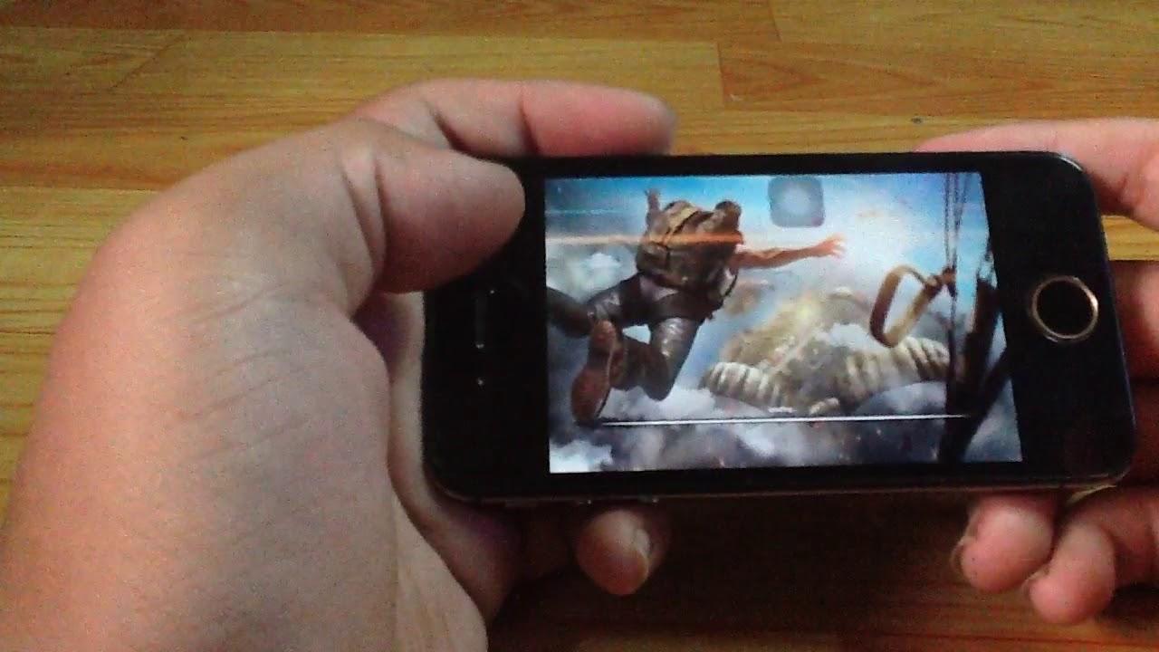 Iphone 4 chơi free fire