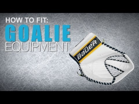 How To Fit Goalie Equipment: Catch Glove