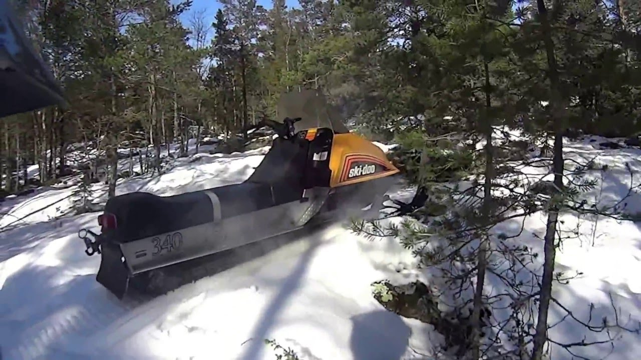 Ski-doo Everest 340 1978 - YouTube