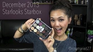 Starlooks Starbox December 2013 + SWATCHES Thumbnail