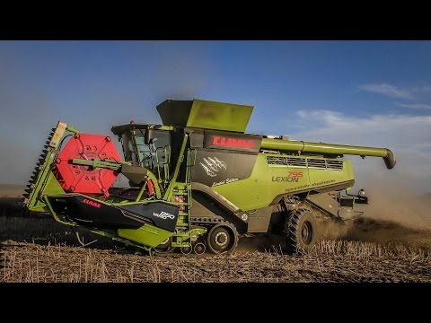 | 2x NEW BLACK CLAAS LEXION 795 TT MONSTER LIMETED EDITION !!! | CLAAS LEXION 770 TT | DE Tour 2016