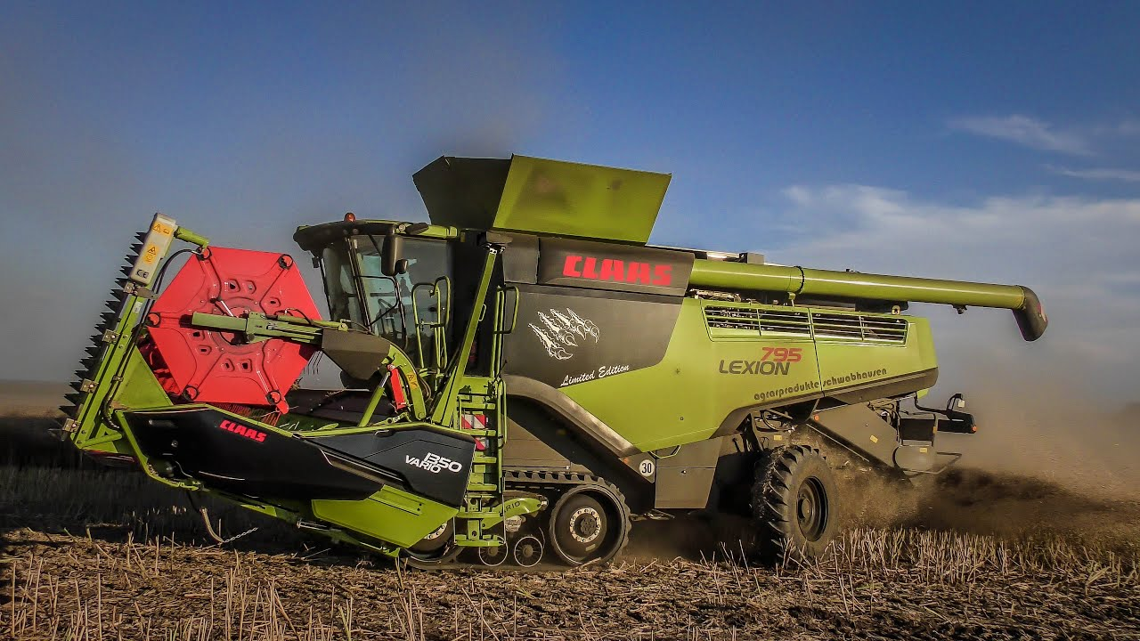 Geliebte 2x NEW BLACK CLAAS LEXION 795 TT MONSTER LIMETED EDITION &AE_51