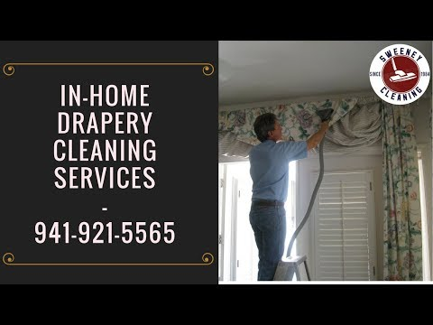 Drapery Cleaning Sarasota | Curtain Cleaning Services