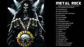 Iron Maiden , Metallica , Helloween , Black Sabbath - Classic Heavy Metal Ballads 80's 90's Playlist