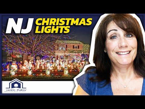 Drive through Christmas light displays: New Jersey