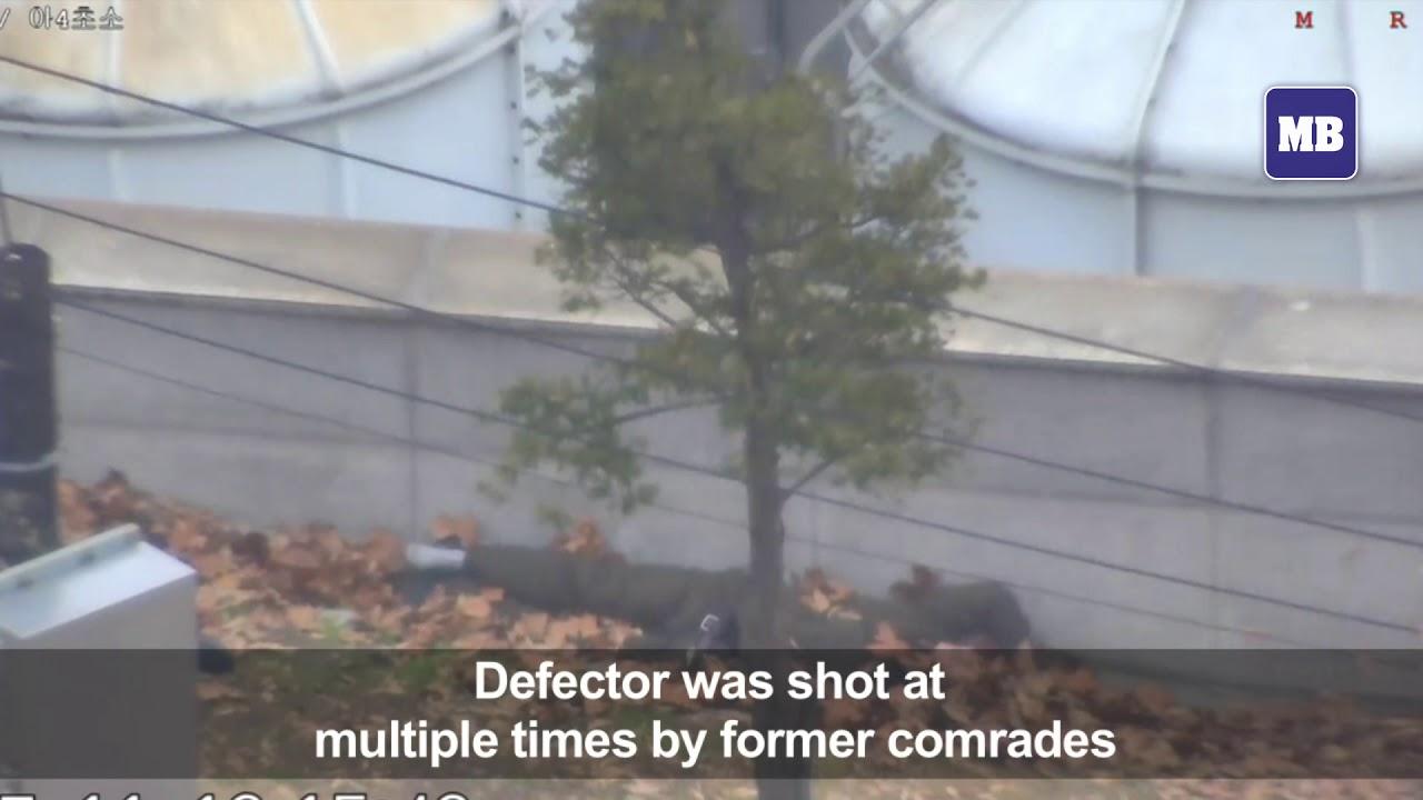 Dramatic footage shows N. Korea defector's border dash