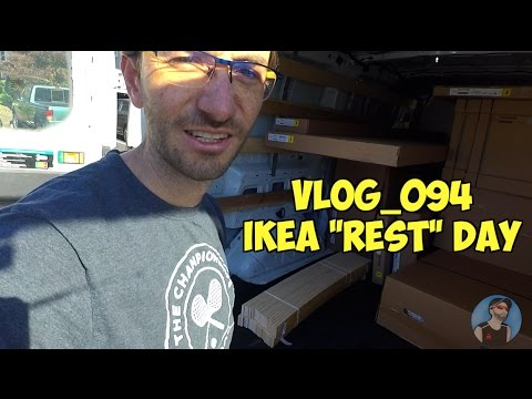 "VLOG_094 - IKEA ""REST"" DAY"