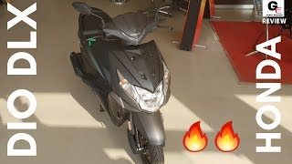 2019 Honda Dio Deluxe edition | detailed walkaround review | features | price | specs !!!