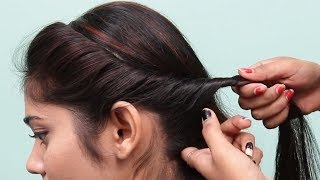 Amazing party Hairstyle for girls | Easy Hairstyles for Medium hair girls | hair style girl